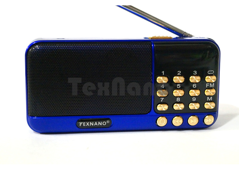 "TE-113 Радиоприемник с USB проигрывателем ""TEXNANO"""