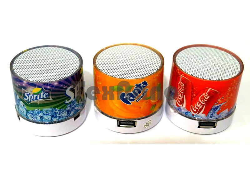 S-60 Портативная колонка с Bluetooth ( Pepsi, fanta)