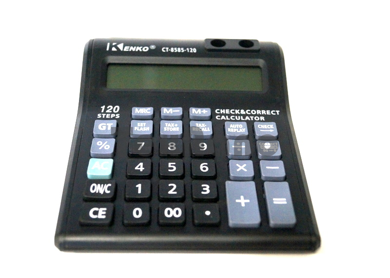 CT-8585-120 Двух строчный 12- Разрядный калькулятор