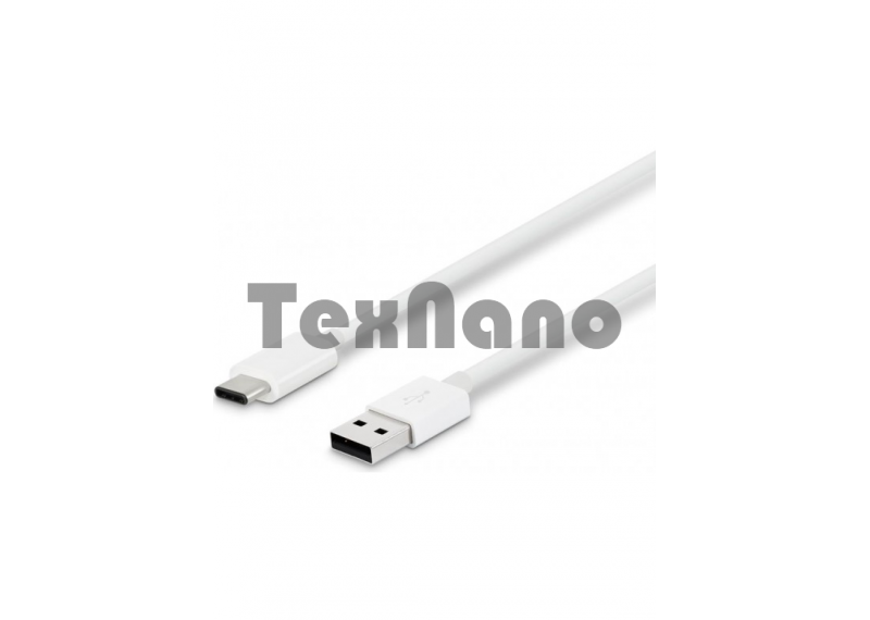 USB Cable Type-C  1000mm  белый