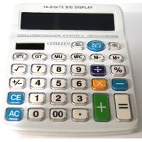 CT-9714N-W 2 Power 14-ти разрядный калькулятор