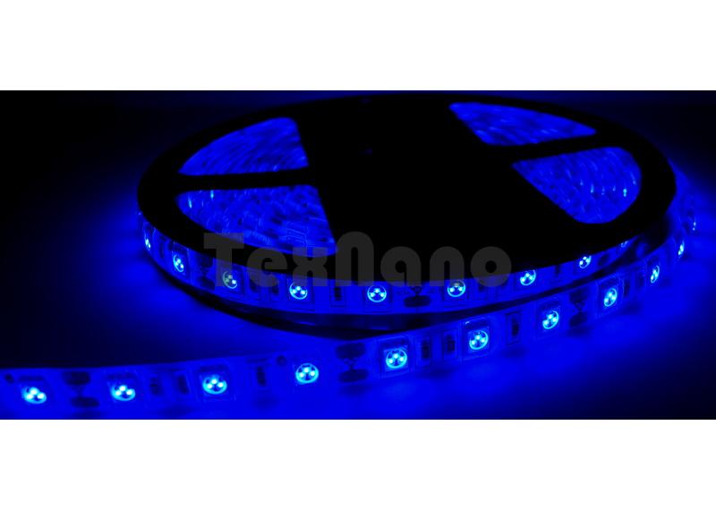 5050-60 Светодиодная лента синяя 5 метров