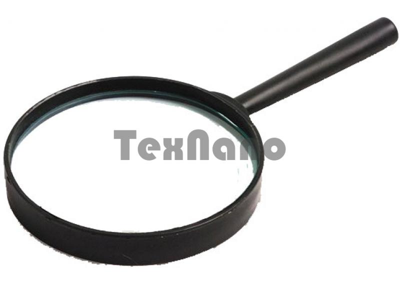 75mm-2.5х  Лупа в черной оправе,пластмаса