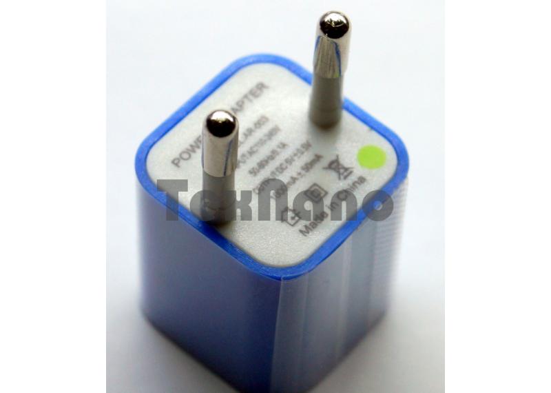 AR-003 Адаптер 1 USB 5.1V/1A кубик