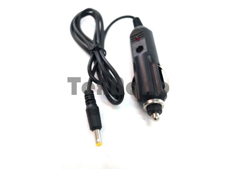 (АЗУ) 12V 500mAh штекер 3.5 ( для TV) Шнур в прикуриватель
