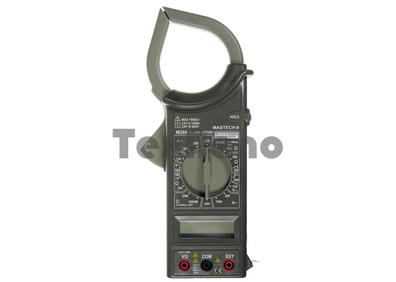 DT266 Мультиметр клещи