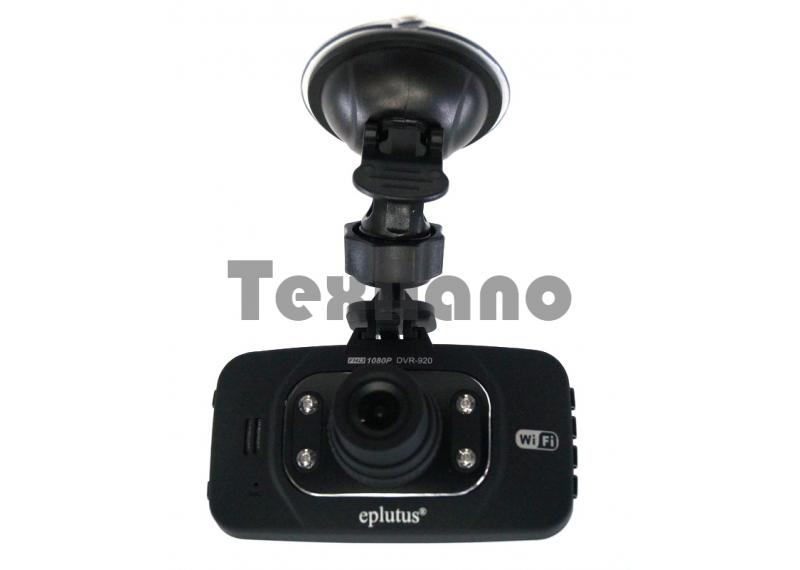 """DVR-920 Автомобильный видеорегистратор с дополнительной камерой """" Eplutus"""""""