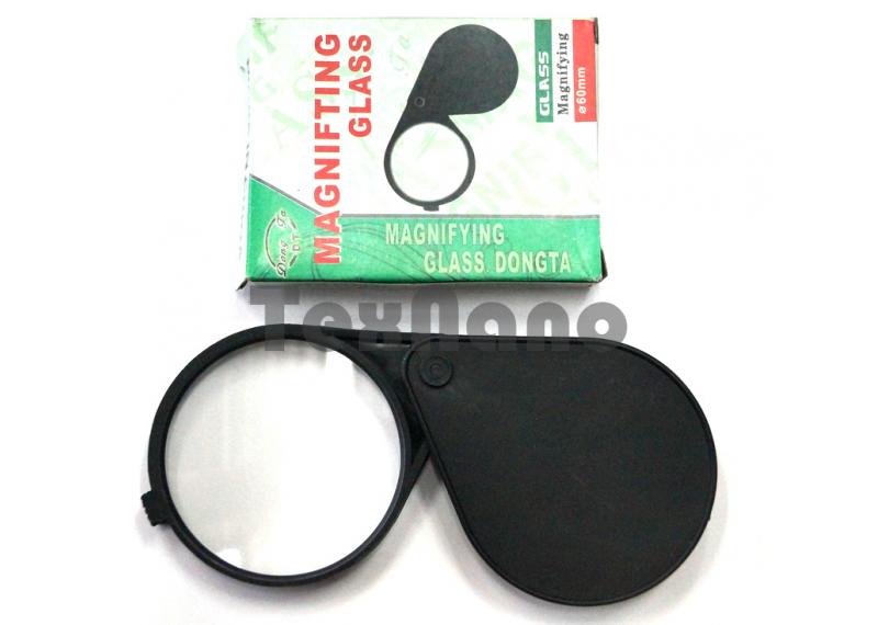 Ф50mm GLLASS Лупа складная,пластик
