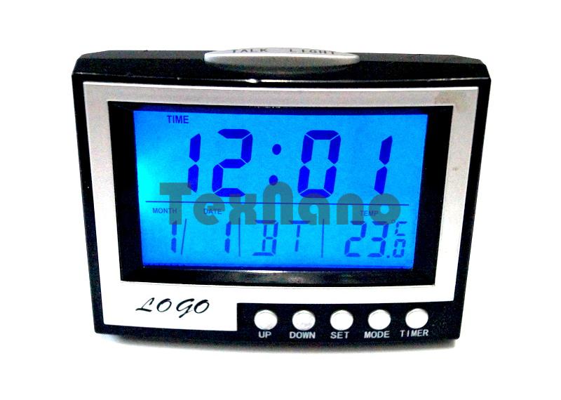 KS-352  Часы настольные электронные ( говорящие с температурой)