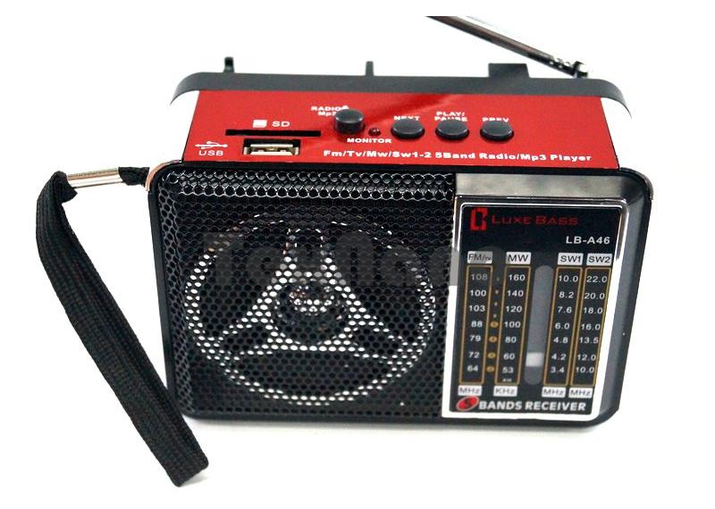LB-A46 Радиоприемник с USB проигрывателем