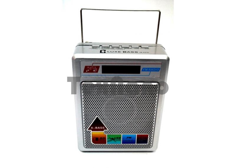 "LB-A5FM Радиоприемник с USB проигрывателем ""Luxe Bass"""