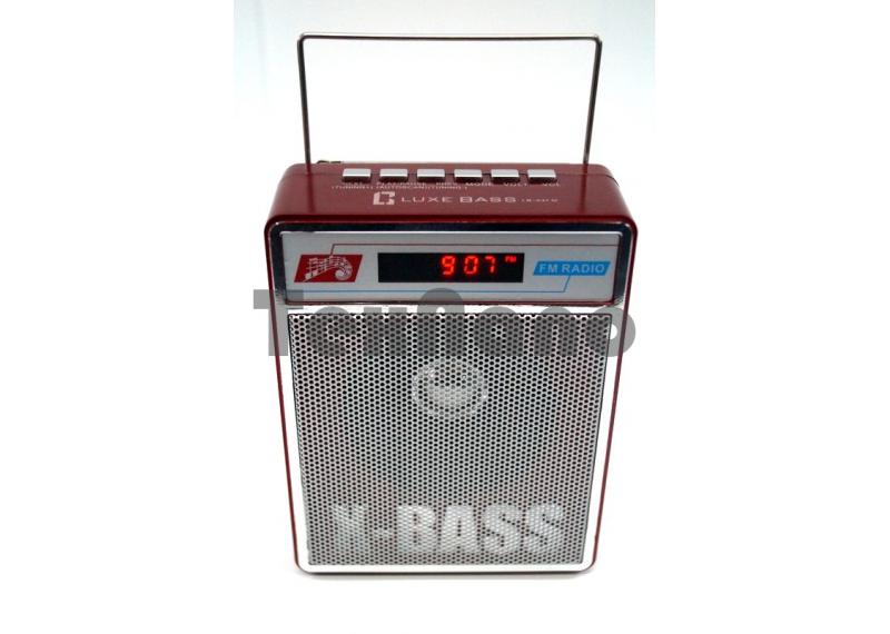 "LB-A4FM Радиоприемник с USB проигрывателем ""Luxe Bass"""