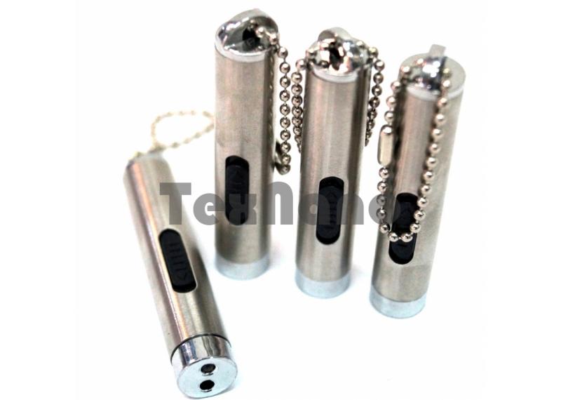Брелок метал /Лазерная указка с фонариком