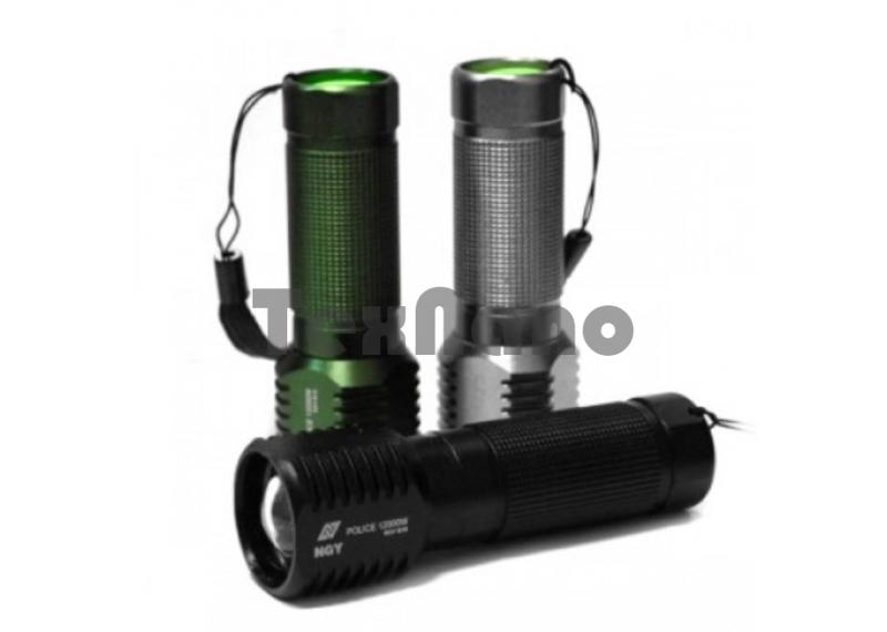 Y-1-B18/Y-731 Ручной фонарик с зумом