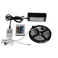 RGB-5050 (60 ламп на 1 метр) Лента 5 метров. Цветная с пультом, в селиконе