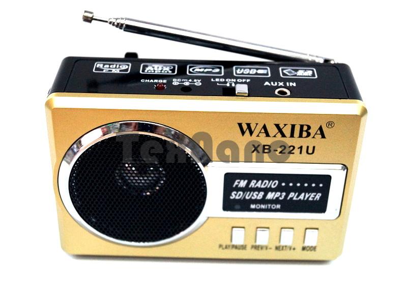 XB-221U Радиоприемник с USB проигрывателем
