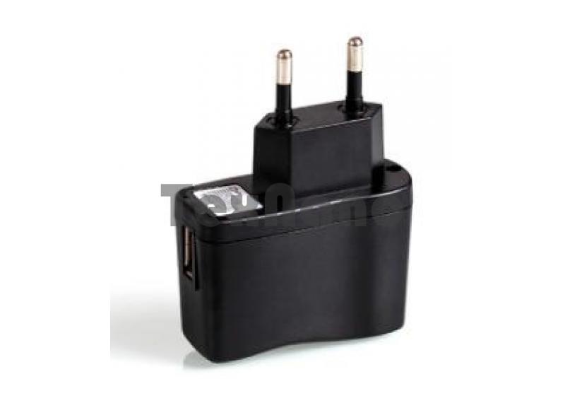 СЗУ-1000mAh USB Блок питания, черный