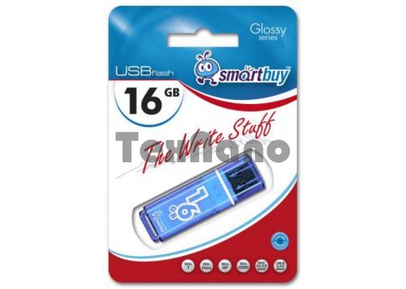 USB флешка Smartbuy  16GB USB 2.0 Blue