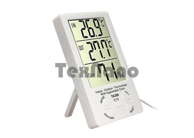 TA-298 Часы настольные электронные с термометром