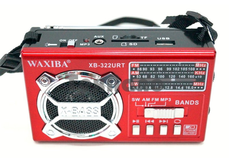XB-322URT Радиоприемник с USB проигрывателем