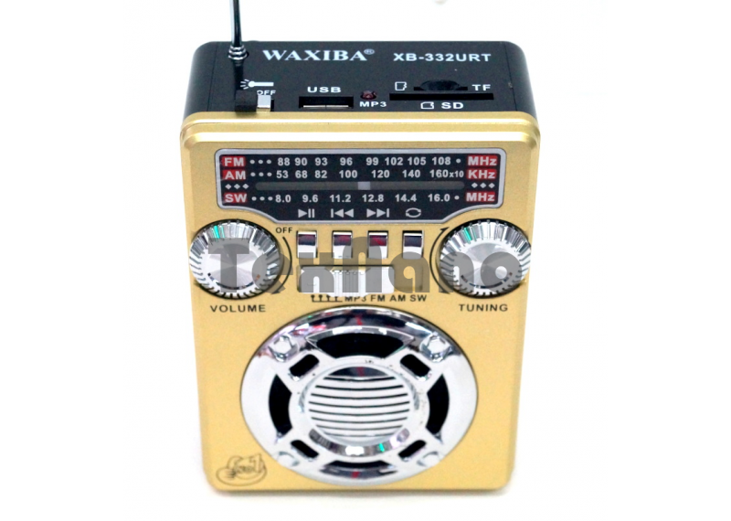 XB-332URT Радиоприемник с USB проигрывателем
