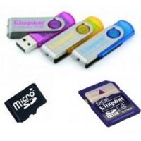 USB Flash накопители и SD карты памяти